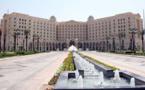 نخستين گزارش گزارشگر بی بی سی از هتل ریتز کارلتون شهر ریاض گزارش به زبان انگلیسی است