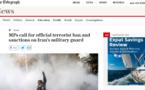 نمايندگان پارلمان انگلیس خواستار قرار دادن نام سپاه ايران در فهرست سازمانهای تروریستی شدند