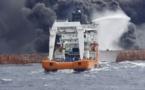 یک هفته آتشسوزی و در نهایت غرق نفتکش ایرانی با ۳۲ سرنشین دز نزدیکی چین