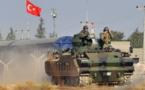 آغاز حملات ارتش ترکیه به مواضع جنگجویان کُرد در شمال سوریه