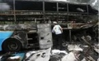 آتش گرفتن اتوبوس در قزاقستان 52 کشته برجای گذاشت