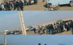 تجمع جوانان اهوازی نسبت به استخدام غير بوميان در مقابل شركت نیشکر میرزا کوچک خان