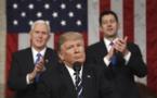 ترامپ در نطق اعلام وضعیت آمریکا: وقتی مردم ایران علیه جنایات دیکتاتوری فاسدشان به پا خاستند، من ساکت نماندم. آمریکا در کنار مردم ایران در مبارزه شجاعانهشان برای آزادی میایستد.