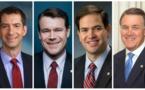 ۱۴ سناتور آمریکا خواستار تشدید تحریم جمهوری اسلامی ایران توسط ترامپ شدند