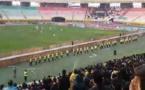 فیلم؛ شعار ضد حکومتی در استادیوم فوتبال