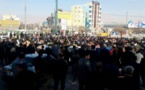 راهپیمایی عظیم کارگران گروه ملی فولاد اهواز در اعتراض به بی توجهی مسئولان به مطالباتشان