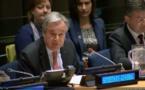 اشاره دبیرکل سازمان ملل به سرکوب اقلیتها، زنان و بازداشت صدها معترض اخیر ایران