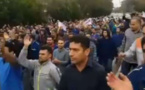 کارگران فولاد اهواز بار دیگر دست به تجمع اعتراضی زدند