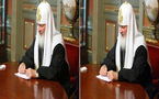 کشف ترفند فتوشاپ اسقف اعظم ارتدوکس روسیه