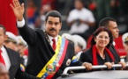 رقص جالب رئیس جمهور ونزوئلا وهمسرش در یکی از محله های نیویورک+فیلم