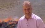 نشئه شدن گزارشگر تلویزیون بی بی سی در پی استشمام دود ناشی از سوختن مواد مخدر