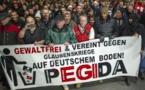 گروه پگیدا برای اولینبار در خاک بریتانیا راهپیمایی کرد